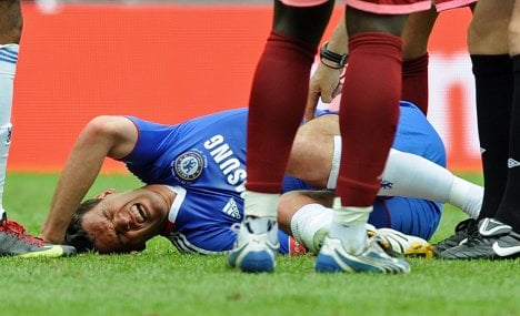 Injured Ballack ruled out of World Cup