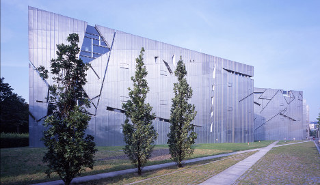 Libeskind extension for Berlin Jewish Museum unveiled