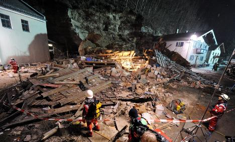 Cavern likely caused deadly rock slide that crushed family home