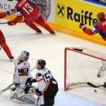 Russia edge Germany to face Czechs in hockey final