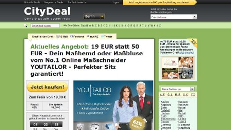 US social commerce site Groupon buys Citydeal