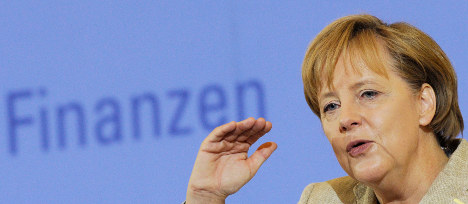 Merkel pushes for new global financial rules