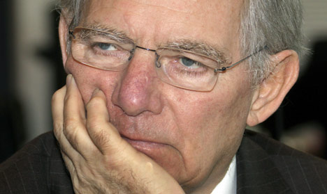 Schäuble 'conscious' after allergic reaction