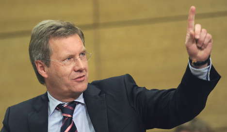 Talk turns to Christian Wulff for president