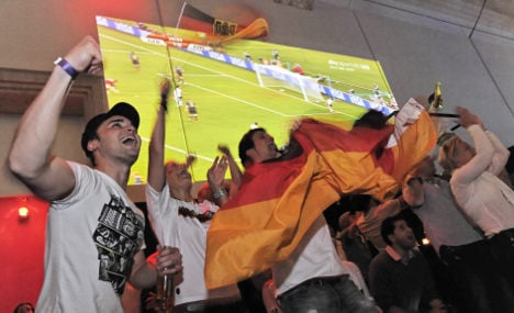 One-third of Germans allowed to watch World Cup at work