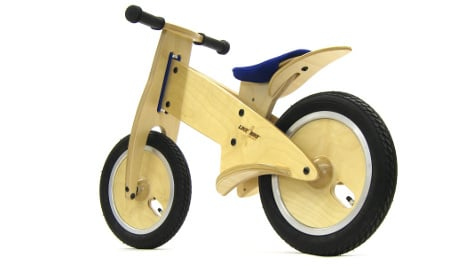 Getting toddlers to like bikes