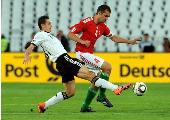 Miroslav Klose<br>Bayern Munich striker Miroslav Klose, who turns 32 just ahead of the tournament is easily the most experienced player on the German team. Coach Löw will look to his experience to help guide the team. He is one of Germany's top players and one of its all-time top goal scorers, behind only Gerd Müller and Joachim Streich.Photo: DPA