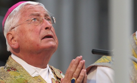 Mixa wants his case reviewed by Vatican