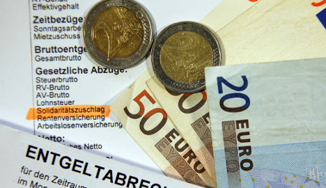 Schäuble moots hiking 'solidarity' tax to help rescue budget