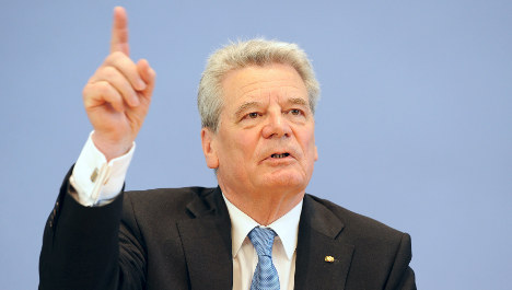 Support grows for Gauck presidency