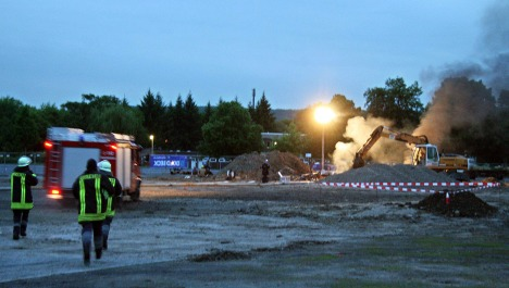 Three killed in WWII bomb explosion