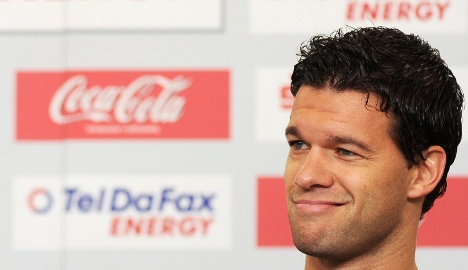 'I'm the captain,' insists angry Ballack