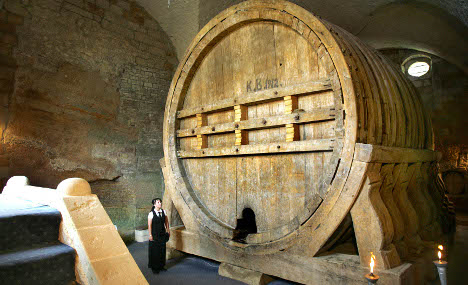 Behemoth wine barrel to be tapped after 400 years