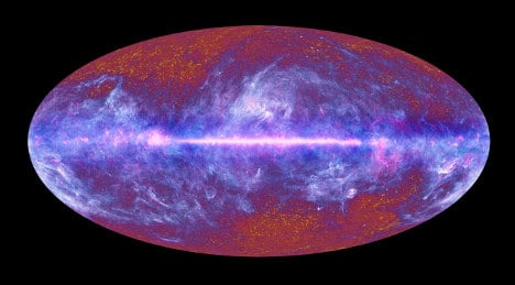Space probe captures echoes of Big Bang