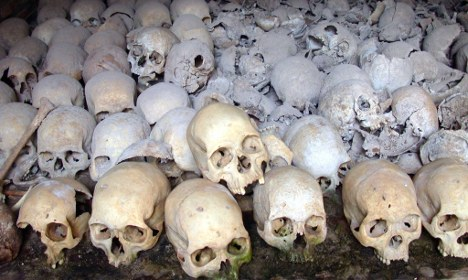 Rwandan man arrested on genocide charge