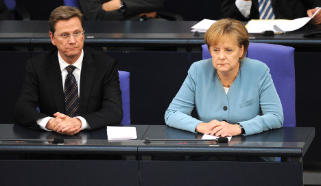 Merkel's coalition hits all-time low in poll