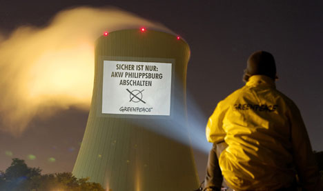 Officials approve fog grenades to protect nuclear power plant