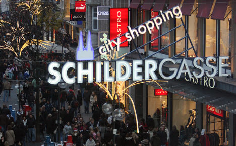 Cologne shopping street ranked Germany's most popular