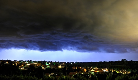 Thunder to end hottest day of the year