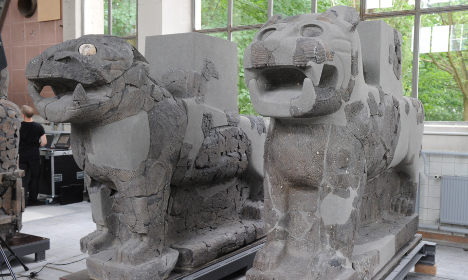 Ancient treasures rise again from WWII rubble in Berlin