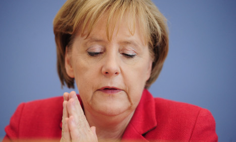 Merkel's coalition plagued by dismal polls