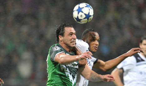 Werder fight back to earn draw against Spurs