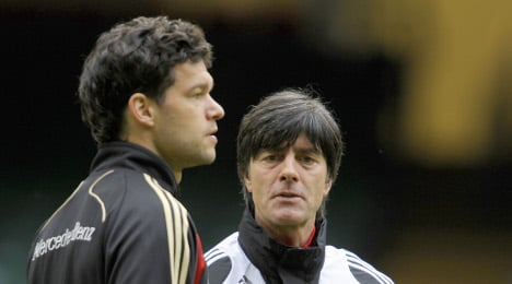 Discussion over Ballack's place in national team intensifies