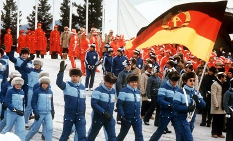 Ex-official: East German teen athletes doped