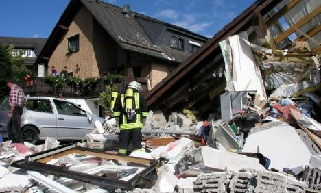 One dead, three injured in house explosion