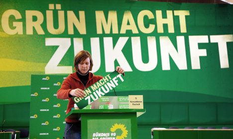 Greens overtake SPD as strongest opposition