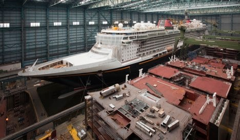 Biggest German-built cruise ship completed