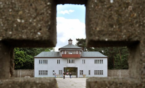 Row over Sachsenhausen concentration camp work resolved
