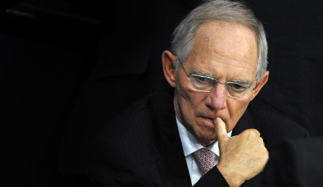 Hospitalised Schäuble counters job rumours