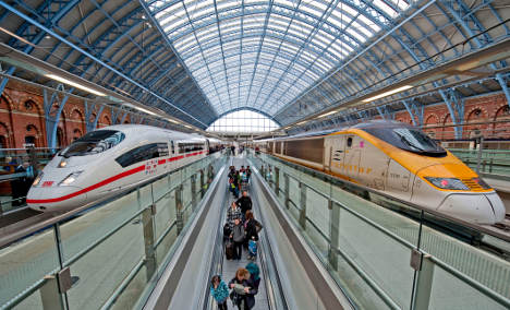 Deutsche Bahn hails 'new age' of rail travel after Chunnel crossing