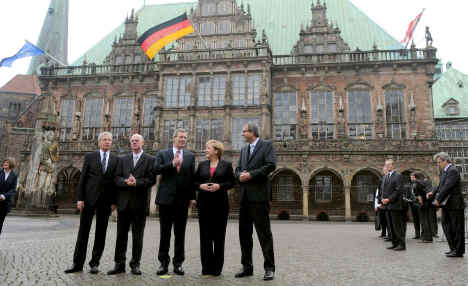 Germany marks 20 years of reunification