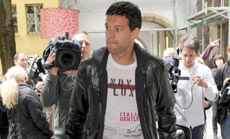 Ballack unlikely to play again in 2010