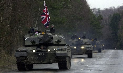 Britain to remove troops from Germany by 2020
