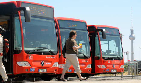 Bahn to pit bus against train services in 2011
