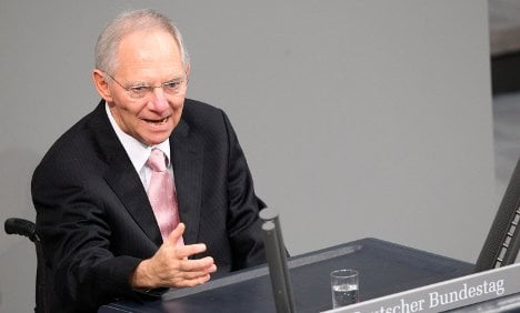 Euro at stake in Ireland bailout, Schäuble says