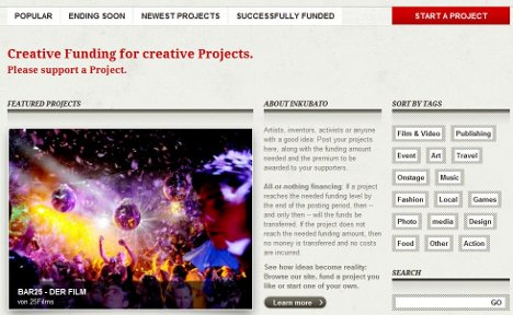 Crowd funding comes to Germany