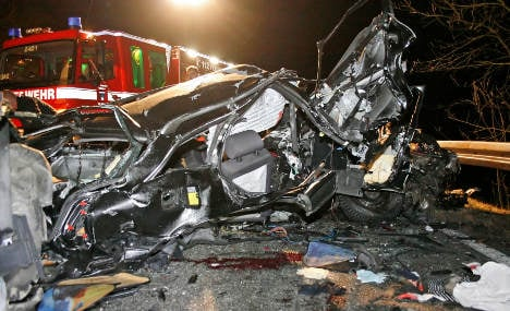Illegal car race ends in deadly head-on crash with truck