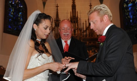Boris Becker ordered to pay pastor for wedding