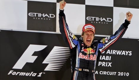 Vettel becomes youngest F1 champ ever