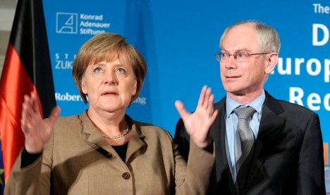 Germany's image suffers in EU amid debt crisis
