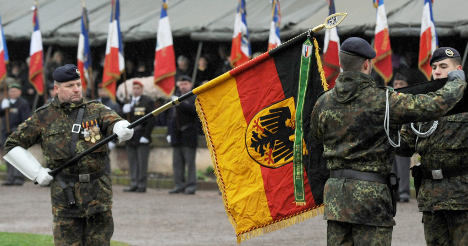 German troops stationed in France for first time since WWII