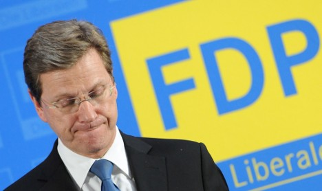 Westerwelle and the FDP: Unloved yet irreplaceable