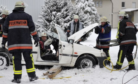 White Christmas causes nightmare travel conditions