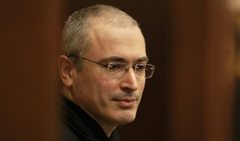 Russia's ex-oligarch Khodorkovsky receives human rights prize