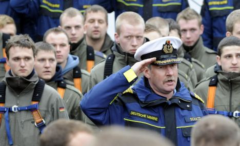 Gorch Fock captain relieved of duty