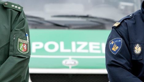 Police search train for explosives